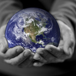 the world in hands