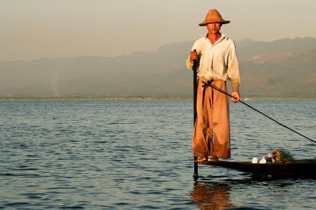 Fisherman Myanmar