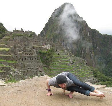 Christa at Machu Picchu