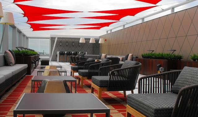 delta sky deck feature new york jfk airport