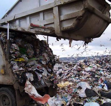 Hong Kong landfill