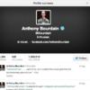 Anthony Bourdain Twitter
