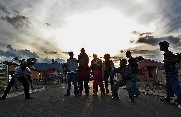 Langa Township South Africa