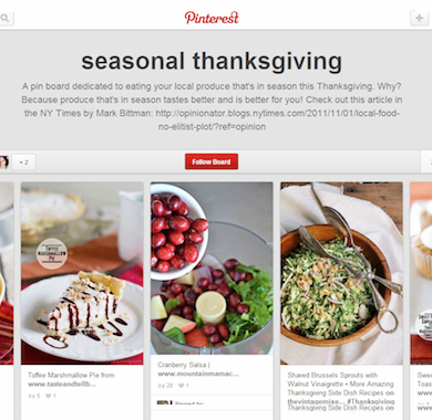 Thanksgiving Pinterest Slider