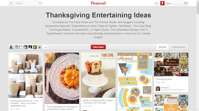 Thanksgiving entertaining pinterest