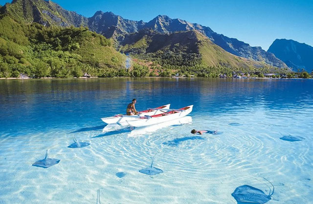 clearest waters in the world