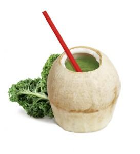 green coconut juice