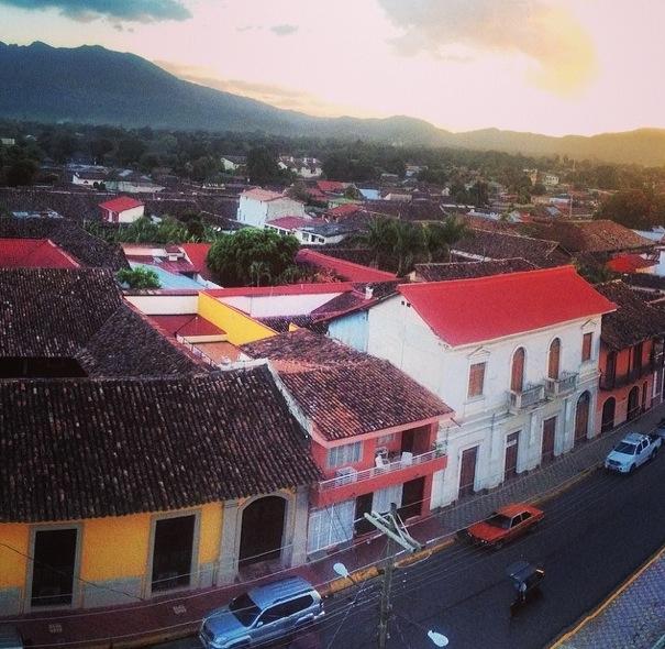Multi-colored homes of Granada