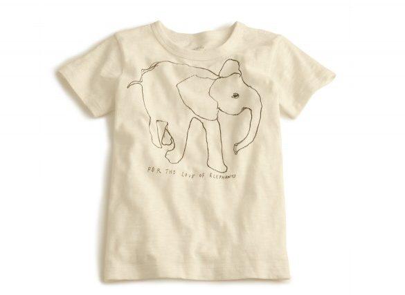 J crew elephant t shirts