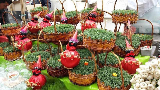 Nowruz market in Tajrish_