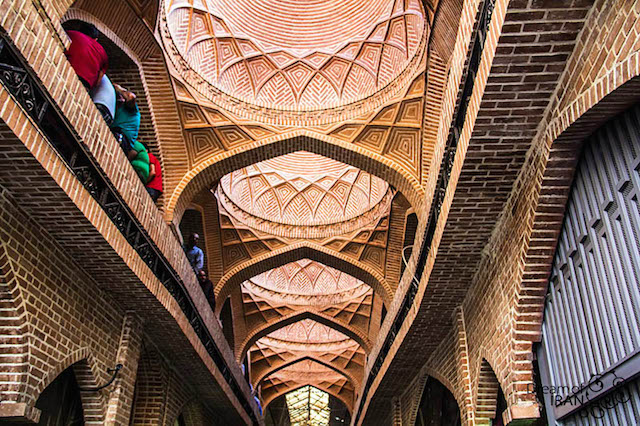 arches-inside-tehran bazaar-Photo by Madi-Jahangir