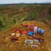 conflict palm oil plantation