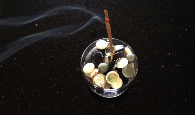 incense and anxiety