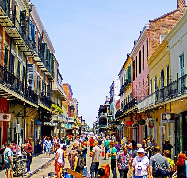 view of the French Quarter