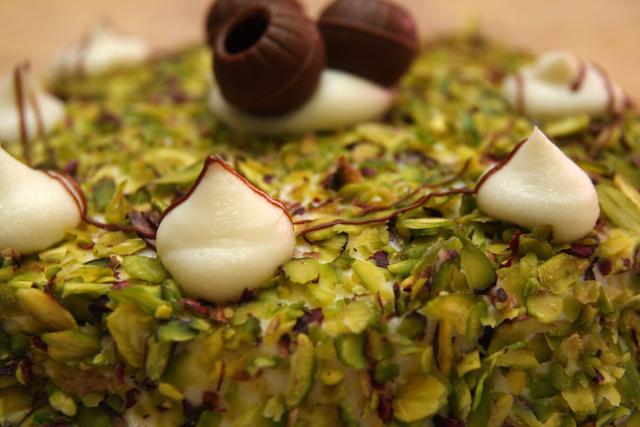 Sicilian Pistachio cake