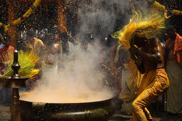Holi ritual, India