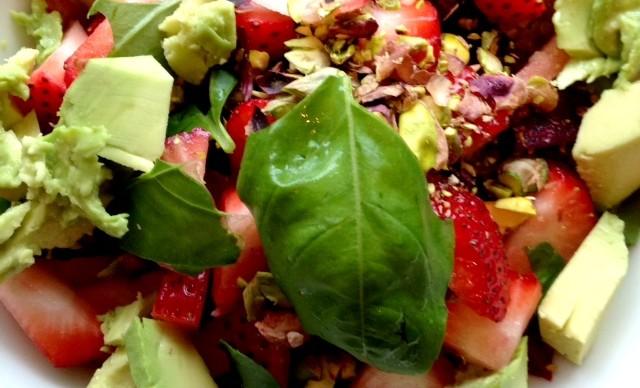 quinoa beet avocado salad