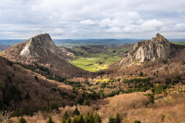 Auvergne valley