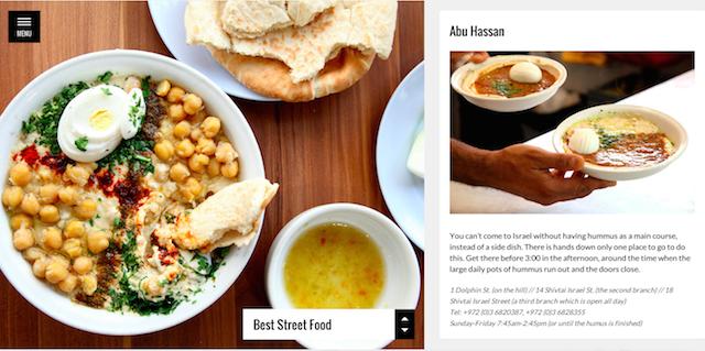 Tel Aviv Food Guide