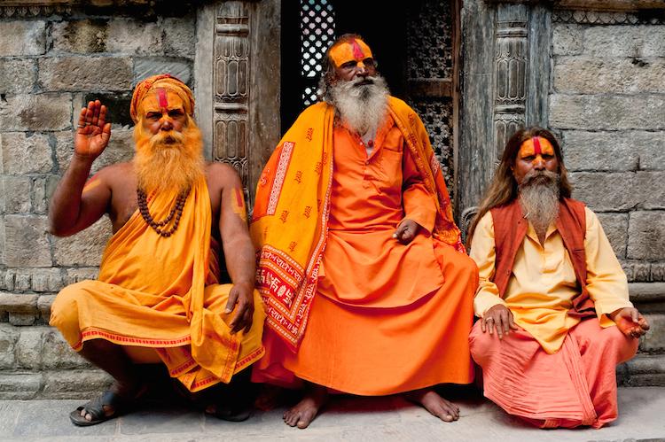 holy sadu men