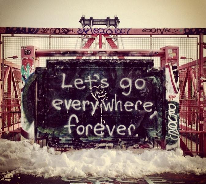 Street art in Brooklyn, Let's Go Everywhere