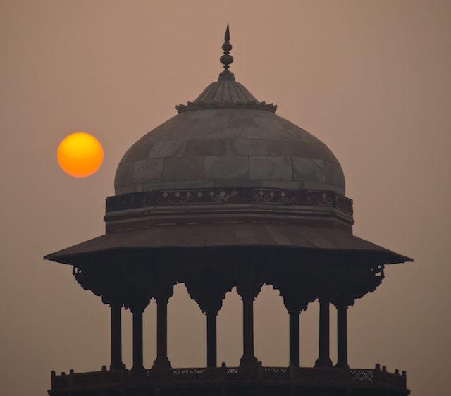 delhi at sunrise