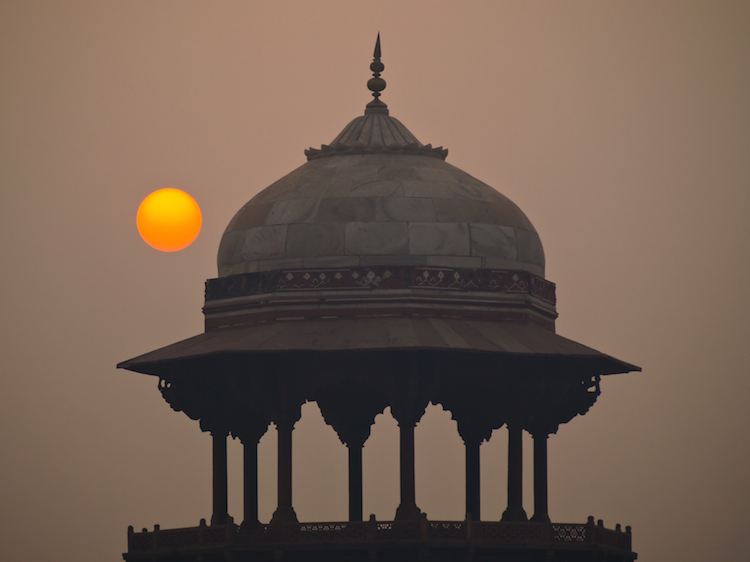 delhi at sunrise