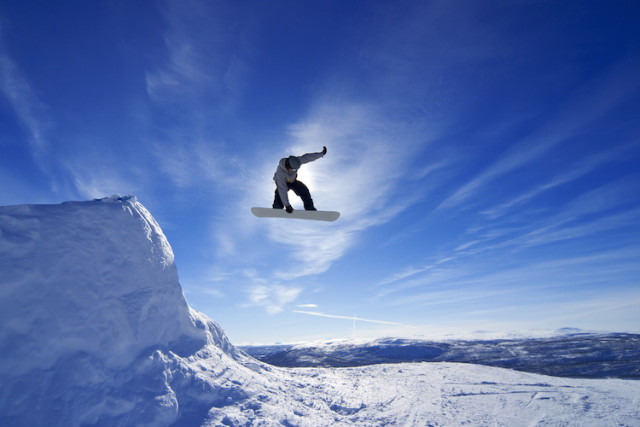 snowboarding photo