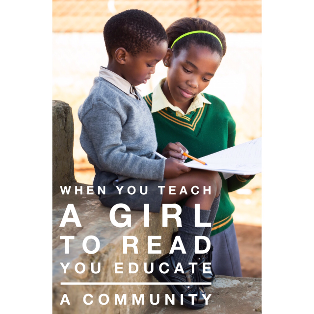teach a girl to read