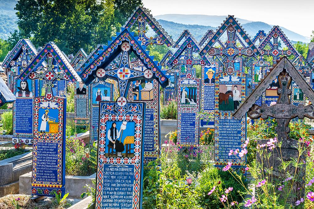 Sapanta-The-Merry-Cemetery-Romania-painted-crosses