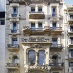 A Little Palace in Barcelona's L'Eixample Neighborhood